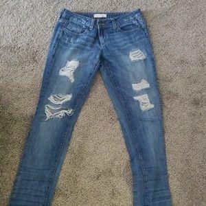2.1 Distressed Jean